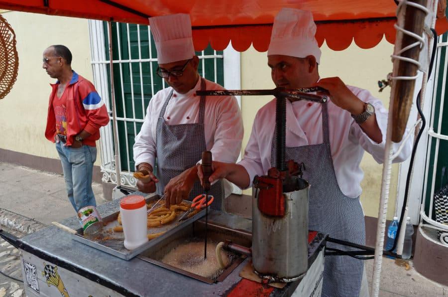 Jak se na Kubě najíte - Churroz
