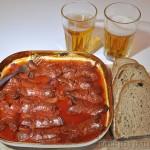 Buřty na pivě - recept